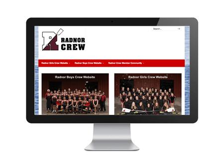 Radnor Crew entry portal page
