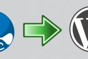 Drupal to WordPress conversion